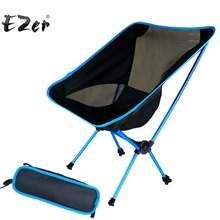Folding Outdoor Beach Fishing Chair Portable Super-light Breathable Backrest Beach Picnic chair Barbecue Camping Stool(China)