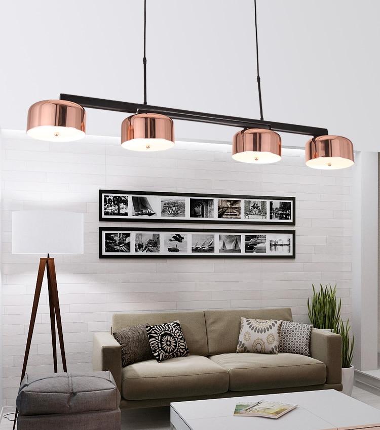 Compre Modernas Lámparas Colgantes Led Luces Colgantes Para La Sala ...