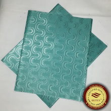 Aqua African Headtie Nigeria Gele Head tie,2pcs/pack SEGO Headtie,BEITEX High Quality New Fashion Pattern Wholesale(China)