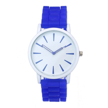 Genvivia Jelly Quartz Watches For Men Unsex Dress Silicone Watch clock relojes mujer ladies Bangle Flower Cheap Watches