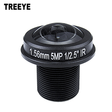 "Fisheye lens M12 1.56mm CCTV Lens M12 IR 1/2"" 5.0Megapixel For HD IP Camera 185D Wide Angle Panoramic Lens"