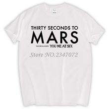 30 SECONDS TO MARS WORLD TOUR 2017 JARED LETO ALTERNATIVE ROCK NEW BLACK T-SHIRT