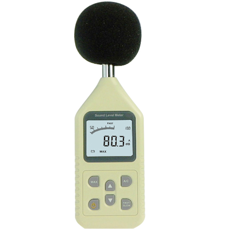 Digital Handheld Sound Detection Of Decibel Noise Tester A/C Weighted/ Sound Level Meter<br>