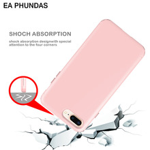 For iphone 8plus EA PHUNDAS high quality Hard&Soft Silicone Hybrid Armor Phone back cover fundas conque for iphone 8plus case(China)