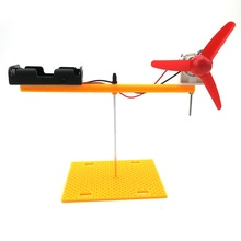EFHH Rotating Wing Technology Making Physics Experiment Equipment DIY Assembling Educational Toy Novelty Practical Jokes(China)