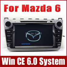 "8"" Car DVD Player for Mazda6 Ruiyi Mazda 6 Ultra 2008-2013 with GPS Navigation Radio TV BT USB SD AUX Auto Video Stereo Nav"