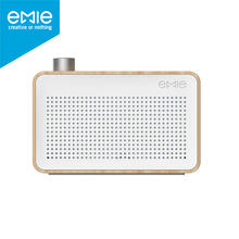 Emie mini Bluetooth Speaker Radio Style Wireless Subwoofer Portable Exquisite gift Retro for iPhone Xiaomi Meizu Huawei phone(China)