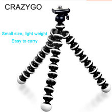 Multifunctional Camera Mobile Phone Tripod Small/medium/Large Octopus Tripod for iPhone Sumsung Huawei Xiaomi YI Camera Gopro