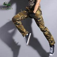 Army Tactical military uniform trousers army combat men tactical pants camouflage cargo 29-38 - Gin clothing co., LTD store