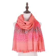 jzhifiyer jacquard 100%Rayon scarfs leopard pashmina shawl wrap winter scarf accessories out cape shawls women winter scarf