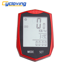 Cycloving 515C Wireless Bike Computer Bicycle Speedometer Odometer Cadence Waterproof Multi-Function