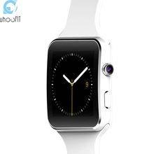 Bluetooth Smart Watch X6 Plus Sport Passometer Smartwatch with Camera support SIM TF Card Whatsapp Facebook for Android Phone(China)