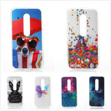 Newest Fashion Art Painted Bad Dog Pattern TPU Silicone Soft Case For Motorola Moto G3 XT1540 XT1541 Cell Phone Back Cover Case