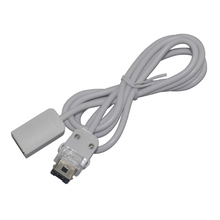 Free shipping 10pcs 100cm long Extension Cable for Wii Controller White color