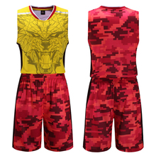 men throwback cheap basketball jersey sleeveless training uniforms quick dry breathable sets team outdoor sport wear for male