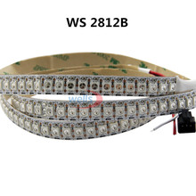 LED 0.5m 72leds 144 LEDs/M WS2812B Chip White/Black PCB WS2811 IC Digital 5050 RGB LED Strip Light 5V NP(China)