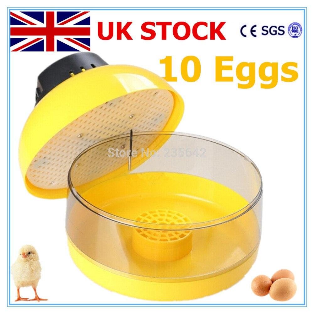De Stock Hot Sale High Efficiency JN10 Mini Egg Incubator For Chicken Eggs Poultry Incubator Machine<br>