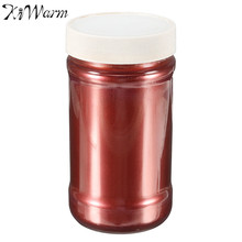 KiWarm 100g Wine Red Ultrafine Glitter Pearl Pigment Powder Metal Sparkle Shimmer Paint for DIY Hand Painted Graffiti Art Supply