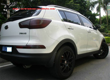 High Quality Polypropylene PP Mud Flap Flaps Splash Guards Mudguard For Kia Sportage R 2010 2011 2012 2013