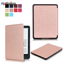 All-New Custer PU Leather Case Smart Cover for Amazon New Kindle Fire HD 8 2016 for Amazon New Kindle Fire HD 8 2016 Cover Case(China)