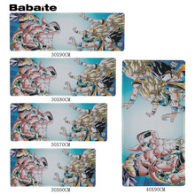 Babaite Fashion Design Large Rubber Mousepad Red Background Marvel Comics Design Big Best Comfort Game Dragon Ball Mouse to Mats