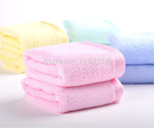 "New Fashion Top Free Shipping 20PCS Bamboo towel baby towel Hand Towels Terry Cloths 4 Colors 10""*10"""