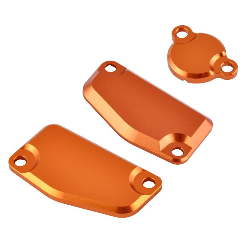 H2CNC Front Rear Brake Clutch Master Cylinder Reservoir Cover Cap Guard Protector For KTM 65 85 SX 200 XCW XC-W 250 Freeride ETC