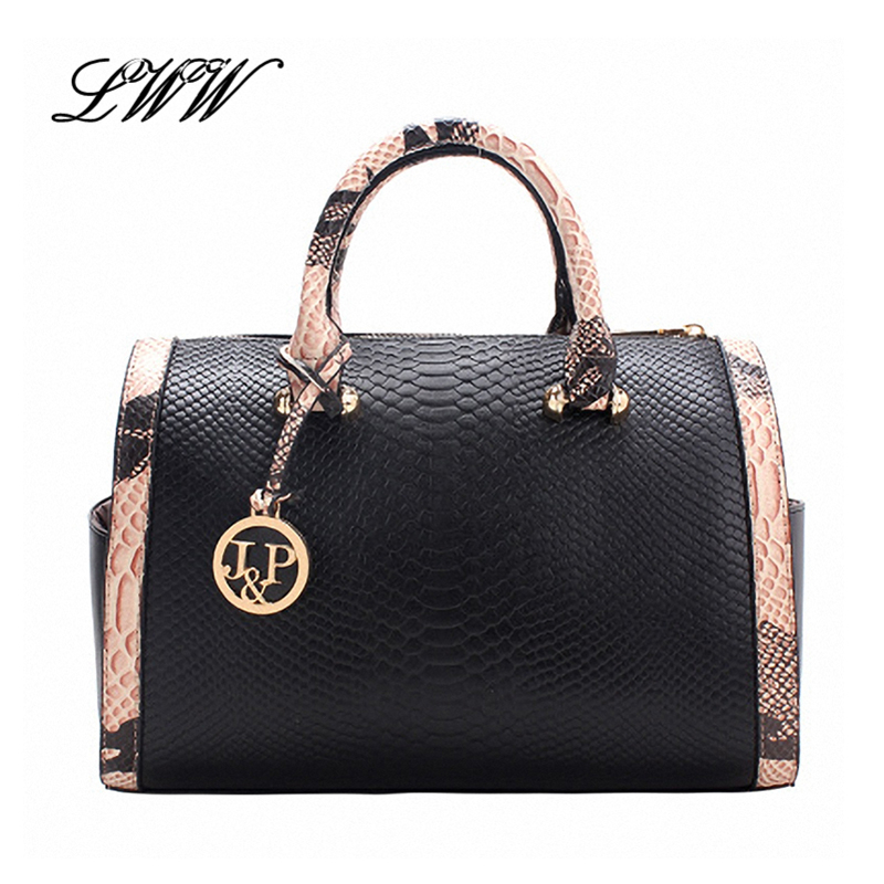 Famous Fashion Casual Serpentine Luxury Handbags Red Women Bags Designer Pillow White and Black Women Shoulder Bags for 5 Color<br><br>Aliexpress