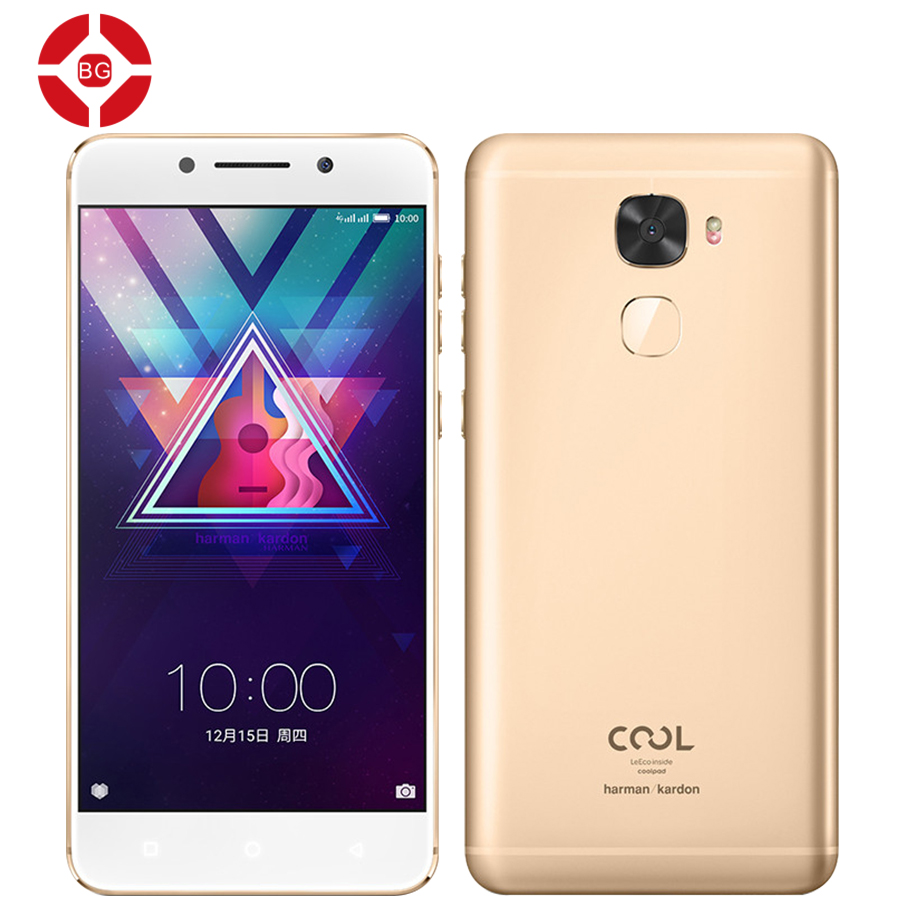 "BG Original Coolpad /LETV Cool Changer S1 Mobile Phone 4G LTE Snapdragon 821 5.5"" 1920x1080P 4GB 64GB 16.0 Dual Sim Fingerprint(China)"