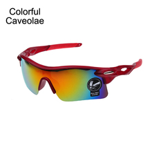 Colorful Caveolae Colorful Sunglasses Fashion Men Reflective Brand Name Man Sun Glasses Casual UV400 Male Glasses(China)
