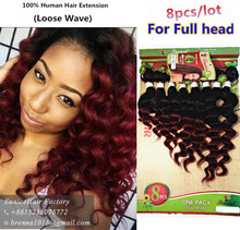 8pcs/lot unprocessed virgin afro kinky curly hair brazilian hair weave short ombre hair human weave jerry curly hair bundles uk