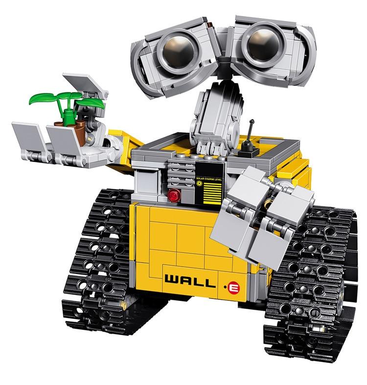 LELE 39023 Assemble Sets Idea Robot WALL E Building Model Kits figures Building Blocks Single Sale Bricks Action Kids Toys<br><br>Aliexpress