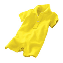 2017 Summer Jumpsuit infant costume Baby rompers cotton polo clothing baby clothes newborn Baby Girl Boys Babies roupas overall(China)
