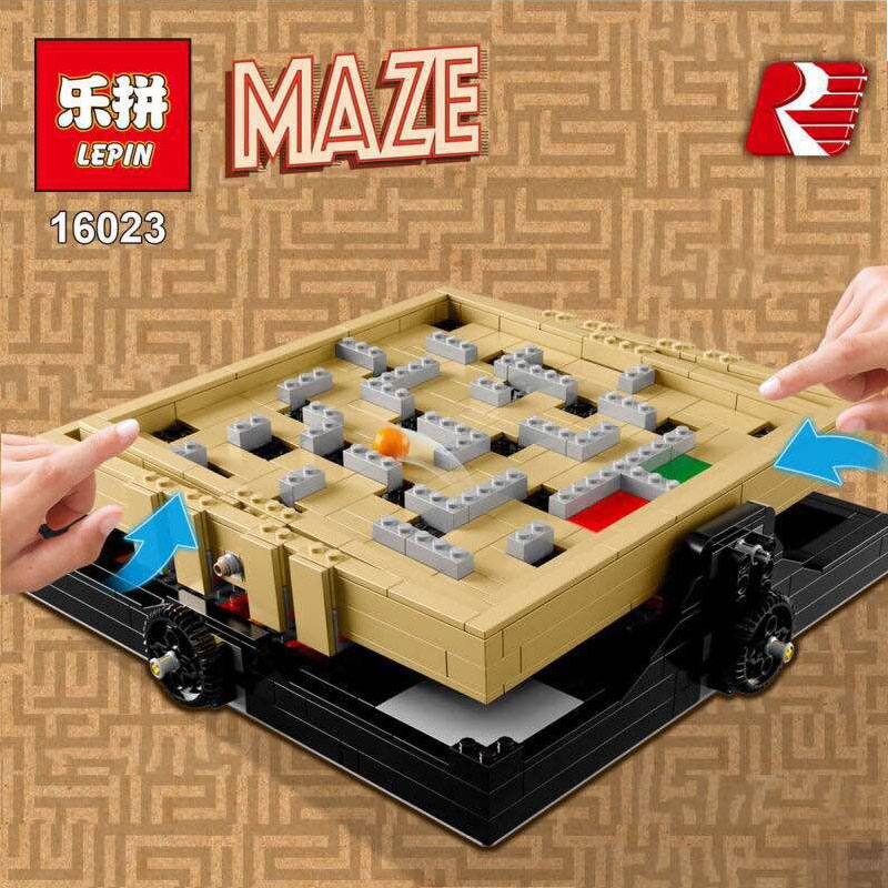 Lepin 16023 Genuine IDEAS Series The Creative Marbles Maze Set Building Blocks Bricks Educational Toys 21305<br>