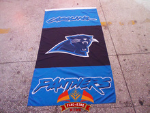 Rugby flag,American football Carolina Panthers Rugby Clubhouse flag, 90X150CM size banner,100% Polyester(China)