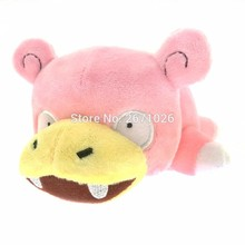 19cm Slowpoke Plush Toy Anime Soft Kawaii Stuffed Animals Pink Doll Kids Toys for Christmas Gifts With Tag