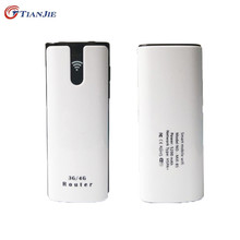 TIANJIE 3G WiFi Router Mobile Portable Multifunctional Mini Wireless Power Bank Battary Charger with SIM Card Slot(China)