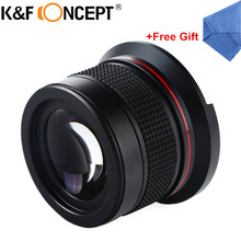 Buy K&F CONCEPT 58MM 0.35X Fisheye Macro Wide Angle Lens Ultra Clear Blue Film Coated DSLR Lenses Camera Canon 600d Nikon Sony for $25.99 in AliExpress store