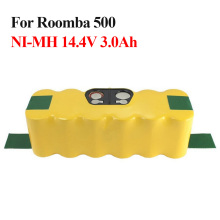 14.4V 3000mah NI-MH Battery Pack for iRobot Roomba 560 530 510 562 550 570 500 581 610 780 532 770 760 Replacement Robotics