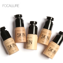 FOCALLURE Face Foundation Makeup Base Liquid Foundation BB Cream Concealer Whitening Moisturizer Oil-control Cosmetic(China)