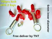 Free delivery! 100pcs/lot+2pcs magnetic detacher key  EAS anti-theft stop lock for display security hook stem&peg stoplock