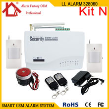 Wireless GSM Burglar Alarm System for Home House Security