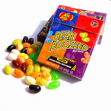 New 45g Sweet Candy Bean Strange Taste Food Snack Harry Potter Jelly Beans Candy Bean Boozled Halloween Christmas Gift