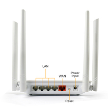 dual-band office/home 5ghz wifi router 1200mbps Wireless Wlan Repeater 802.11ac high power wifi range extender 4*5dbi ante(China)