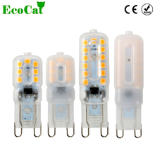 ECO Cat G4 G9 LED bulb 220V 3W 5W Corn Bulb SMD 2835 Spotlight For Crystal Chandelier(China)