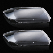 Car Styling Left&Right Headlight Lens Cover for BMW Headlight Lense Replacement LED Headlight Cover Case for BMW E90/E91 04-07(China)