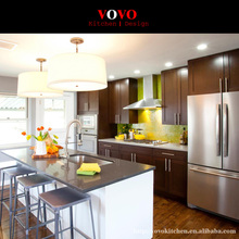 Hot Sale Customized Solid Wood Kitchen furniture with Wall Cabinets