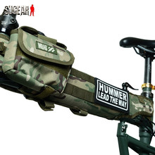 Bicycle Beam Saddle Bags Cycling Riding Bike Bag for Montague Humvees Hummer Lead the Way Bike Outdoor Wooland Cycling Pouches
