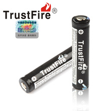 free shipping 4pcs/lot Original Trustfire batteries 10440 3.7v 600mAh li-ion 10440 AAA rechargeable battery