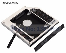 NIGUDEYANG 12.7mm SATA 2nd Hard Drive SSD HDD HD Caddy Adapter Bay for HP ProBook 4540s 4545s Replace GT30L GT30N